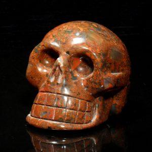 Jasper, Brecciated, Skull, lg All Polished Crystals