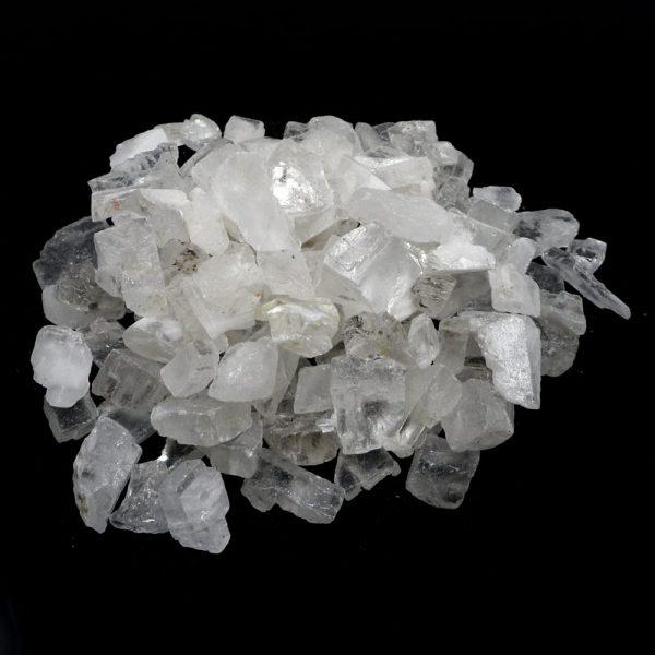 Optical Calcite 16oz All Raw Crystals iceland spar