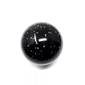 Snowflake Obsidian Sphere 50mm All Polished Crystals crystal sphere