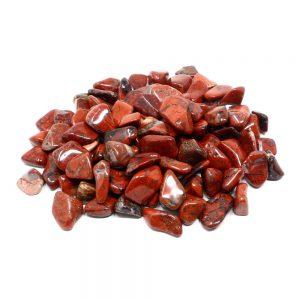 Jasper, Brecciated, tumbled, 16oz All Tumbled Stones brecciated jasper