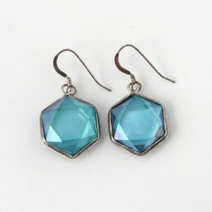 Aqua Aura Earrings All Crystal Jewelry aqua aura