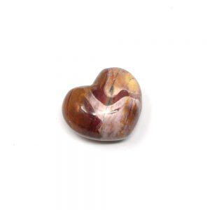 Mookaite Jasper Heart 45mm All Polished Crystals crystal heart