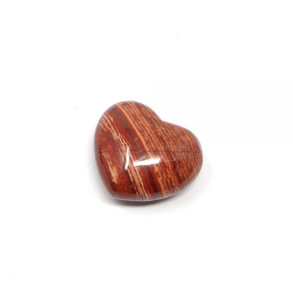 Snakeskin Jasper Heart 45mm All Polished Crystals crystal heart