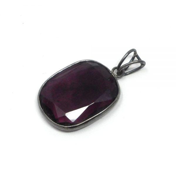 Fluorite Oval Pendant All Crystal Jewelry crystal pendant