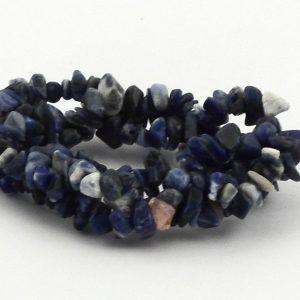Sodalite 3-Strand Chip Bracelet All Crystal Jewelry bracelet