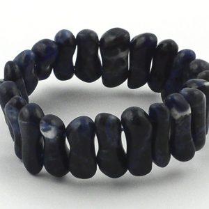 Sodalite Small Peanut Bracelet All Crystal Jewelry bracelet