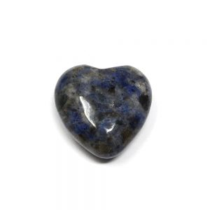 Sodalite Puffy Heart 30mm All Polished Crystals crystal heart