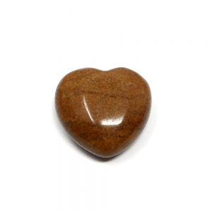 Tiger Jasper Puffy Heart 30mm All Polished Crystals crystal heart