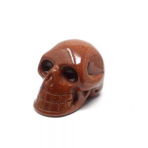 Red Goldstone Skull All Polished Crystals crystal skull