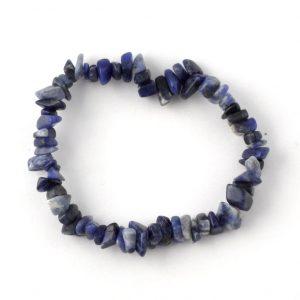 Sodalite Single Strand Chip Bracelet All Crystal Jewelry bracelet