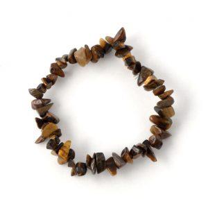 Tiger Eye Single Strand Chip Bracelet All Crystal Jewelry bracelet