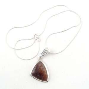 Cacoxenite necklace C All Crystal Jewelry Cacoxenite necklace C