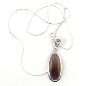 Cacoxenite necklace A All Crystal Jewelry Cacoxenite necklace A