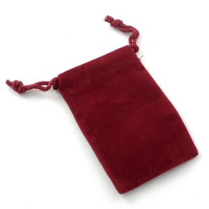 Red Pouch Small Size Accessories crystal pouch