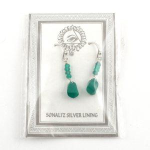 Green Onyx Earrings All Crystal Jewelry earrings