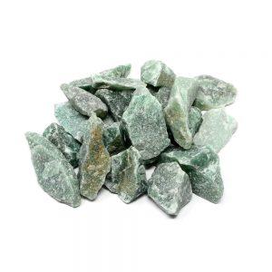 Green Quartz raw 16oz All Raw Crystals bulk green quartz