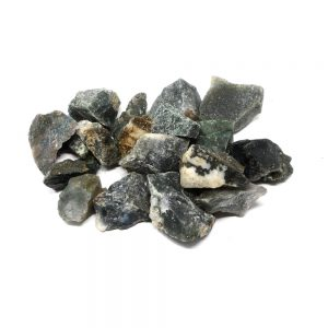 Moss Agate raw 16oz All Raw Crystals bulk moss agate
