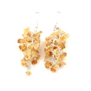 Citrine Earrings All Crystal Jewelry Citrine