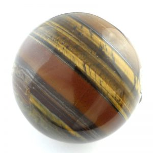 Tiger Eye, Sphere, 50mm All Polished Crystals 50mm