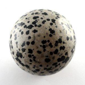 Jasper, Dalmatian Sphere, 50mm All Polished Crystals dalmatian jasper