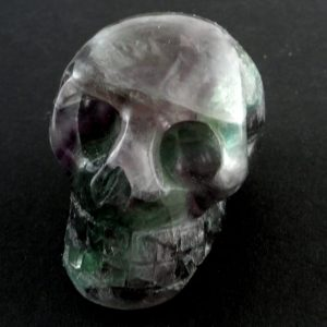 Fluorite Skull All Polished Crystals fluorite