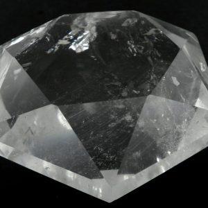 Quartz Faceted Gem All Polished Crystals faceted gem