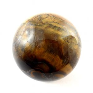 Tiger Eye, Sphere, 40mm All Polished Crystals 40mm