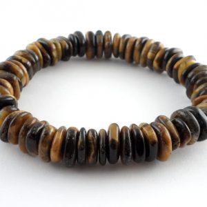 Tiger Eye Heishi Bracelet All Crystal Jewelry bracelet