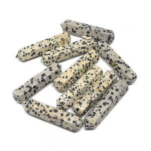 Dalmatian Jasper Wands pack of 10 All Polished Crystals bulk crystal wands