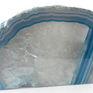 Agate Candleholder, blue Agate Candleholders agate