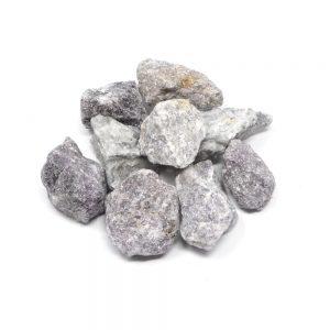 Lepidolite raw 16oz All Raw Crystals bulk lepidolite