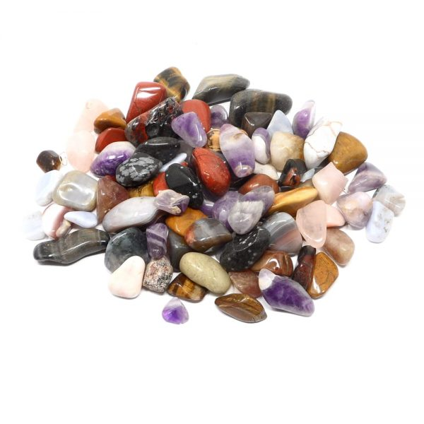 Mixed Tumbled Stones mixed size 16oz All Tumbled Stones bulk tumbled stones