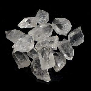 Quartz Points XQ 8oz All Raw Crystals bulk quartz