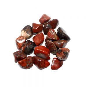 Brecciated Jasper lg tumbled 8oz All Tumbled Stones brecciated jasper