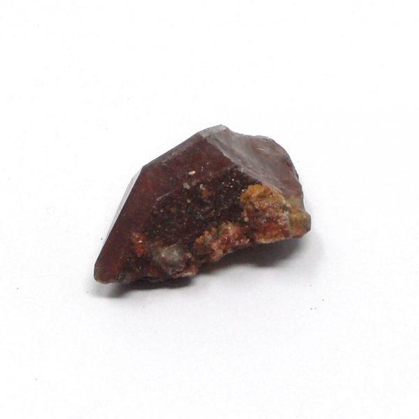 Red Quartz Crystal Point All Raw Crystals hematite quartz