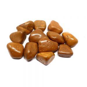 Tumbled Brown Jasper md 8oz All Tumbled Stones brown jasper