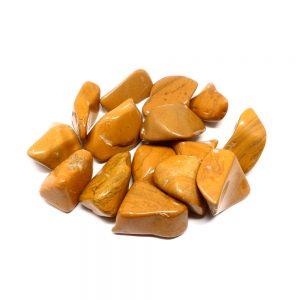 Tumbled Yellow Jasper md 8oz All Tumbled Stones bulk tumbled jasper