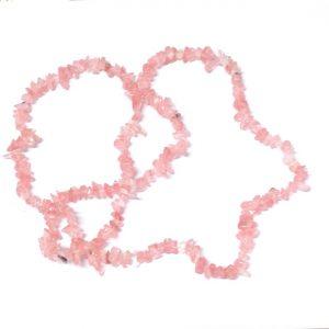 Quartz, Cherry Chip Bead Strand All Crystal Jewelry beads