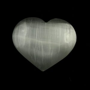 Selenite Crystal Heart All Polished Crystals crystal heart