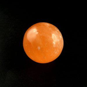 Orange Selenite Sphere 40mm All Polished Crystals 40mm