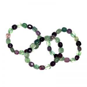 Fluorite Tumbled Stone Bracelet All Crystal Jewelry bracelet