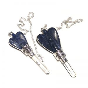 Sodalite Angel Pendulum with Quartz Point All Specialty Items angel