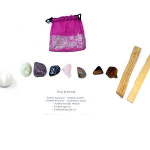 Crystal Kit ~ Peace & Serenity All Specialty Items aquamarine