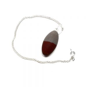 Shiva Lingam Pendulum All Raw Crystals pendulum