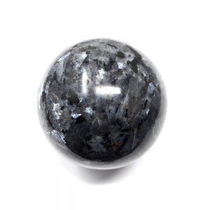 Larvikite Sphere All Polished Crystals blue labradorite