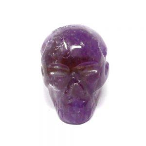 Ametrine Skull All Polished Crystals amethyst citrine skull