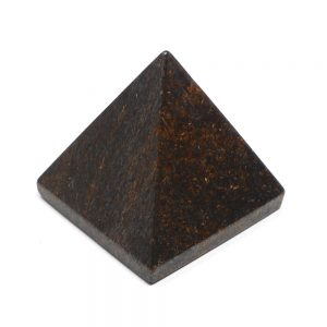 Bronzite Pyramid All Polished Crystals bronzite