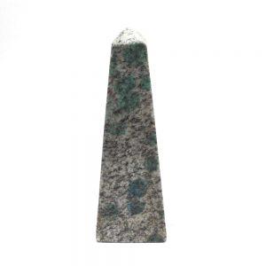 K2 (Azurite in Granite) Obelisk All Polished Crystals azurite