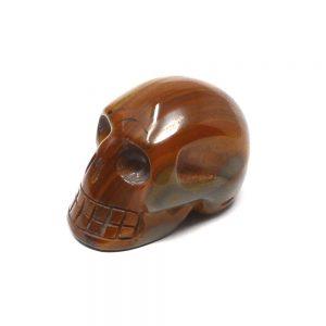 Tiger Eye Skull All Polished Crystals crystal skull