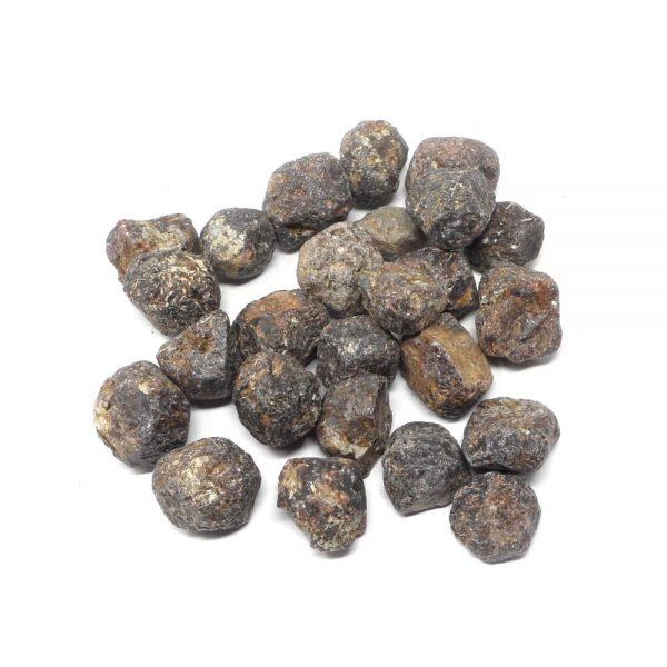 Garnet Pebbles 16oz All Raw Crystals bulk garnet